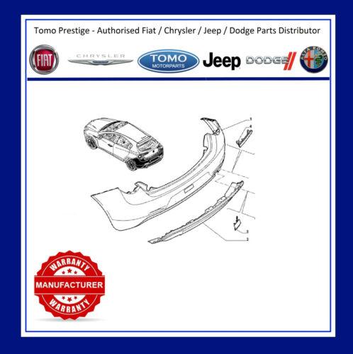 REAR BUMPER REAR VERN C//F SENS ALFA ROMEO GIULIETTA 10/> 2010/> GENUINE FIAT