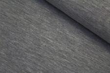 Jersey dunkel grau UNI 50cm x 1,50m Pumphose Bündchen Bund Beanie Kinder