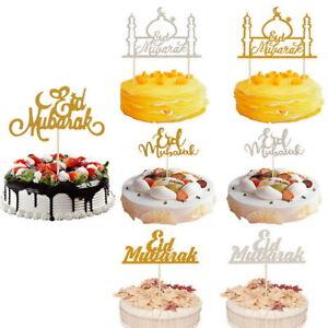 Eid-Mubarak-Cake-Toppers-Decor-Parti-Ramadan-Prop-Choix-de-Gateaux-Musulmans