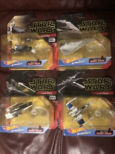 Hot Wheels Star Wars Rise Of Skywalker A Wing Treadspeeder Star Destroyer X Wing Ebay