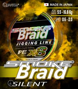 Quantum-Smoke-Braid-Jigging-Line-150m-8fach-geflochten-High-End-Schnur-gerae