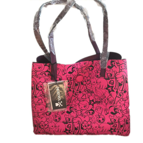 Bordeaux Day Tokidoki Face Double And Bag Night Sac P4x5qw70