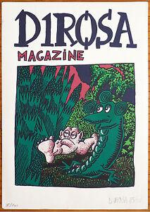 Serigraphie-originale-de-Herve-DIROSA-signee-numerotee-de-1985-Portfolio-Linard