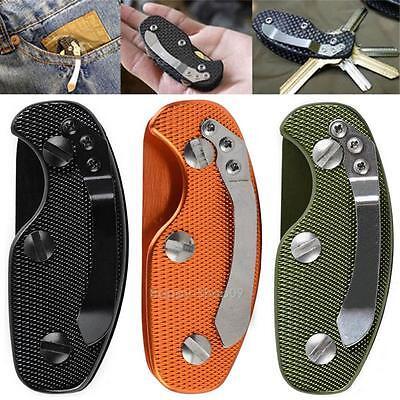 EDC Lightweight Folding Keys Organizer Holder Aluminum Key Holder Pocket Tool