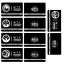 miniature 2 -  SCP Foundation Keycards sticker pass 10pcs PLASTIC CARD cosplay games gift