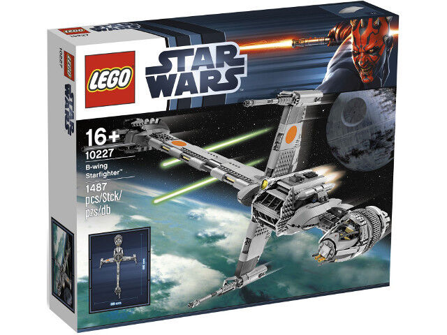 NEW Lego Star Wars  10227 B-Wing Starfighter - UCS Sealed Ships World Wide