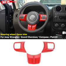 Steering Wheel Cover Trims Fit Jeep Wrangler 11 17 Grand Cherokee 11 13 Compass Fits 2012 Jeep Patriot