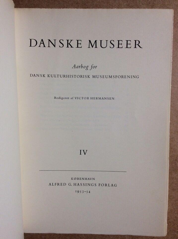 Aarbog for dansk kulturhistorisk museumsforening ,