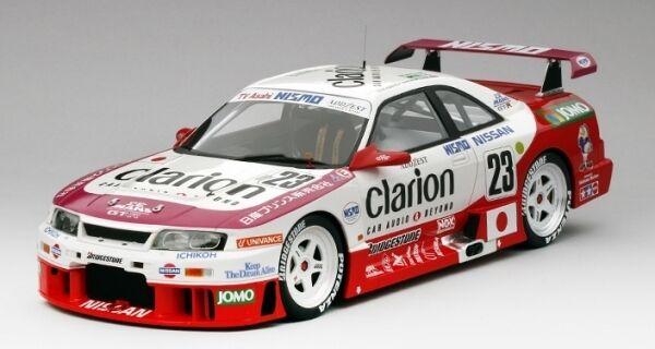 Nissan skyline gt - r -   23 clarion 24 stunden von le mans 1995 18 - modell
