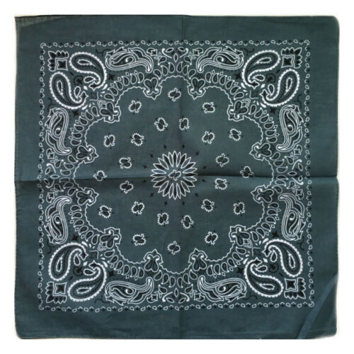 Hip Hop Neck Wrist Band Face Head Wrap Bandana Square Scarf Handkerchief Scarves