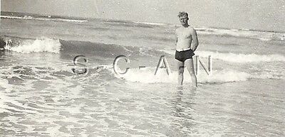 WWII German RP- Soldier- Semi Nude- Gay Interest- Swimming