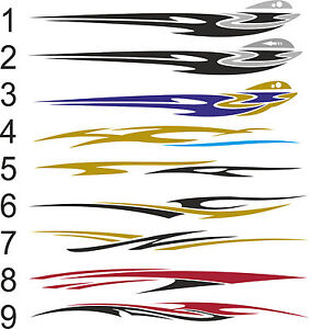 Speed BoatCamper VanCaravanMotorhomeCar Vinyl GraphicsDecals - Vinyl boat graphics decals