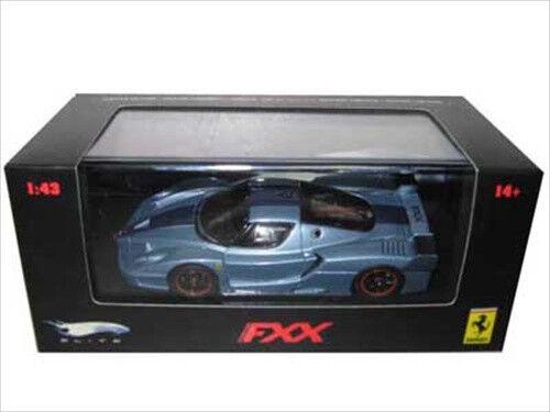 light blue Ferrari FXX