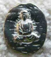 10 Buddhas Pewter Pocket Buddha Coins/tokens W/bags