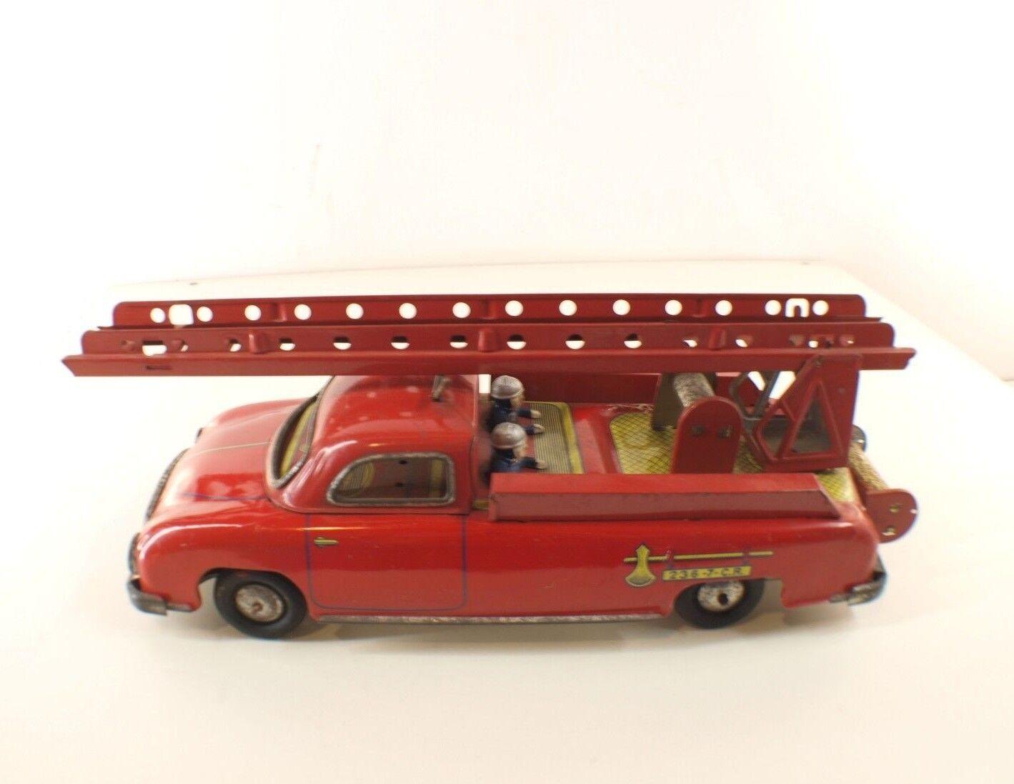 Cr Charles Rossignol 236-7 Delahaye Pompieri Motore Set Metallo Tin Giocattolo