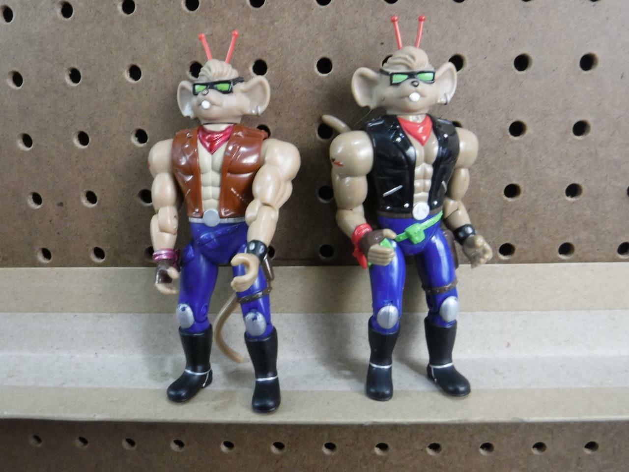 Biker Mice from Mars Figure Figure Figure Lot of 2 Thredtle & from gift set 5 1 2 inch Galoob 3f8fd9