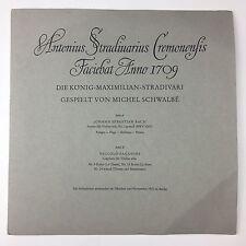 """RARE PRIVATE 10"""" Michel Schwalbe Bach Paganini AS 1000 Violin Solo"""
