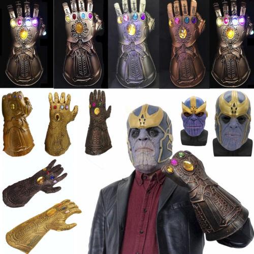 Thanos Handschuh-Schlüsselanhänger Cosplay Kostüme Avengers Comic-Film Dekor Toy