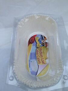 ORDERED B4 1PM 500 x DISPOSABLE LOAF MOULDS 130x70x53mm NEXT DAY DELIVERY