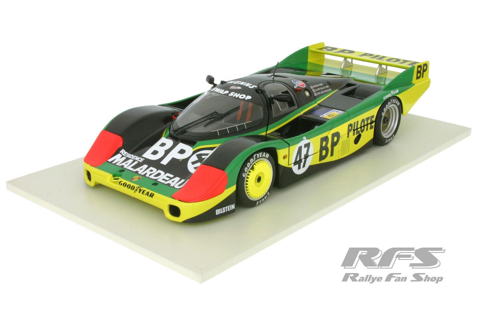 Entrega rápida y envío gratis en todos los pedidos. Porsche 956 lteam lteam lteam Preston Henn T-Bird 24h le mans 1983 1 18 Minichamps 180836947  precios bajos