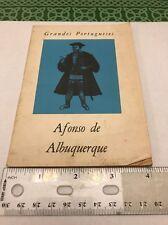 Afonso De Albuquerque Grandes Portugueses Estevao Pinto Book Free Shipping