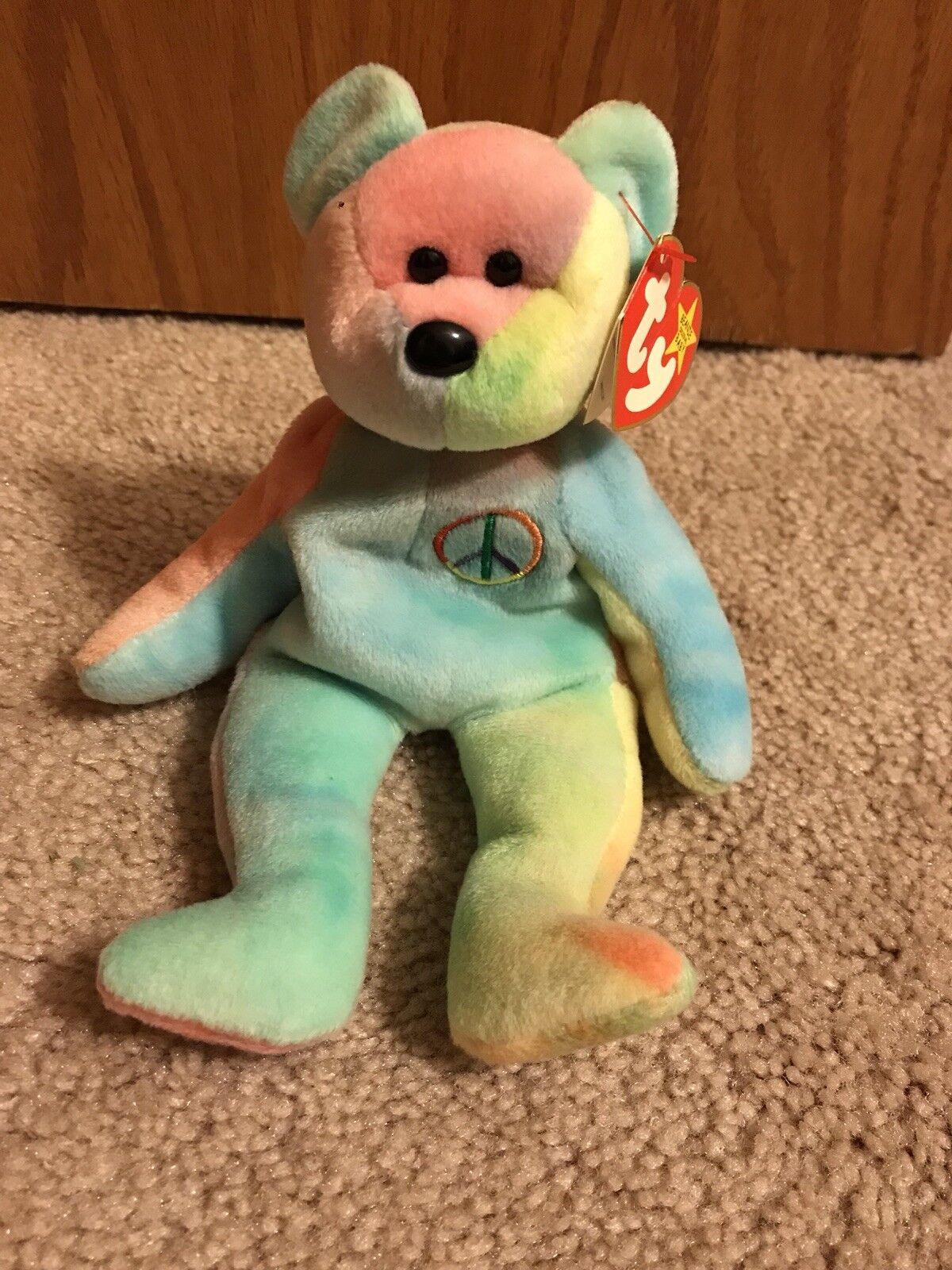 fred Bear Beanie bebis