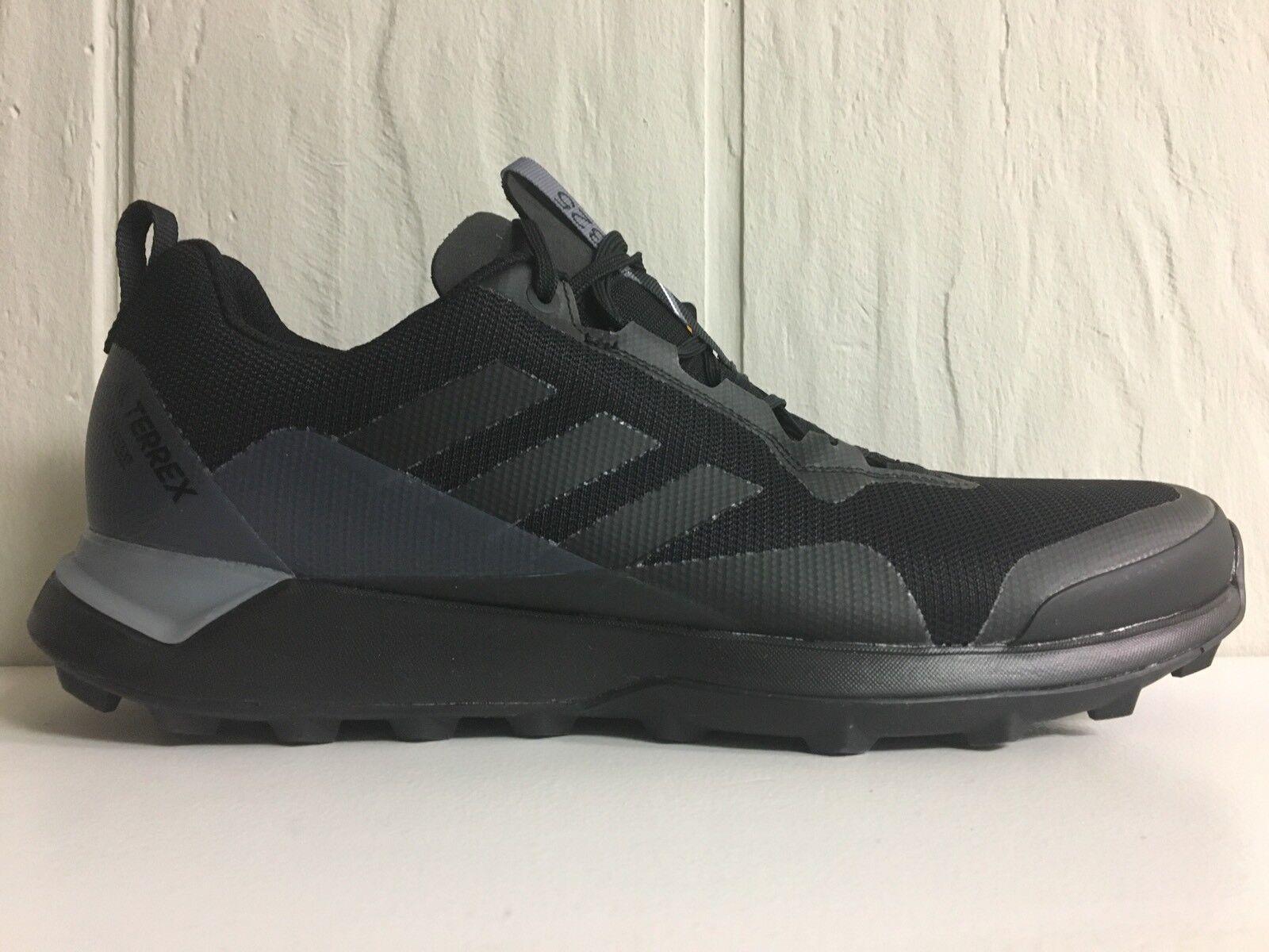 Adidas Herrengröße 10 Terrex CMTK Gore Tex GTX BY2770 Outdoor-Wanderschuhe Schwarz