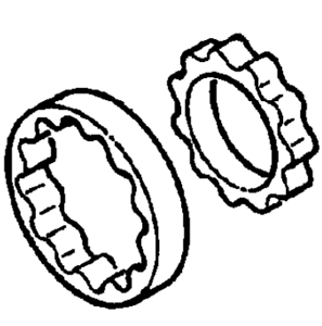 Vauxhall-Kit-Riparazione-Nuovo-Originale-93190827