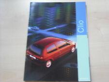 52407) Renault Clio B Prospekt 03/1999