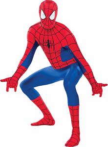 Amazing Spider-Man Party Suite Costume Marvel Comics Size Adult XLarge New PC884