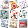 1pc Plaid Leaves Floral Striped Square Throw Pillow Case Cushion Cover Decor 20""