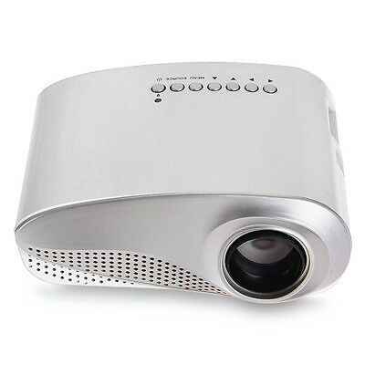 Portable Mini LED Multimedia Projector Home Cinema Theater 1080P HDMI TV AV
