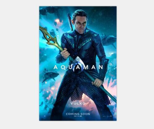 20x30 24x36 48x32 Poster Y-056 New Aquaman DC 2019 Movie Vulko