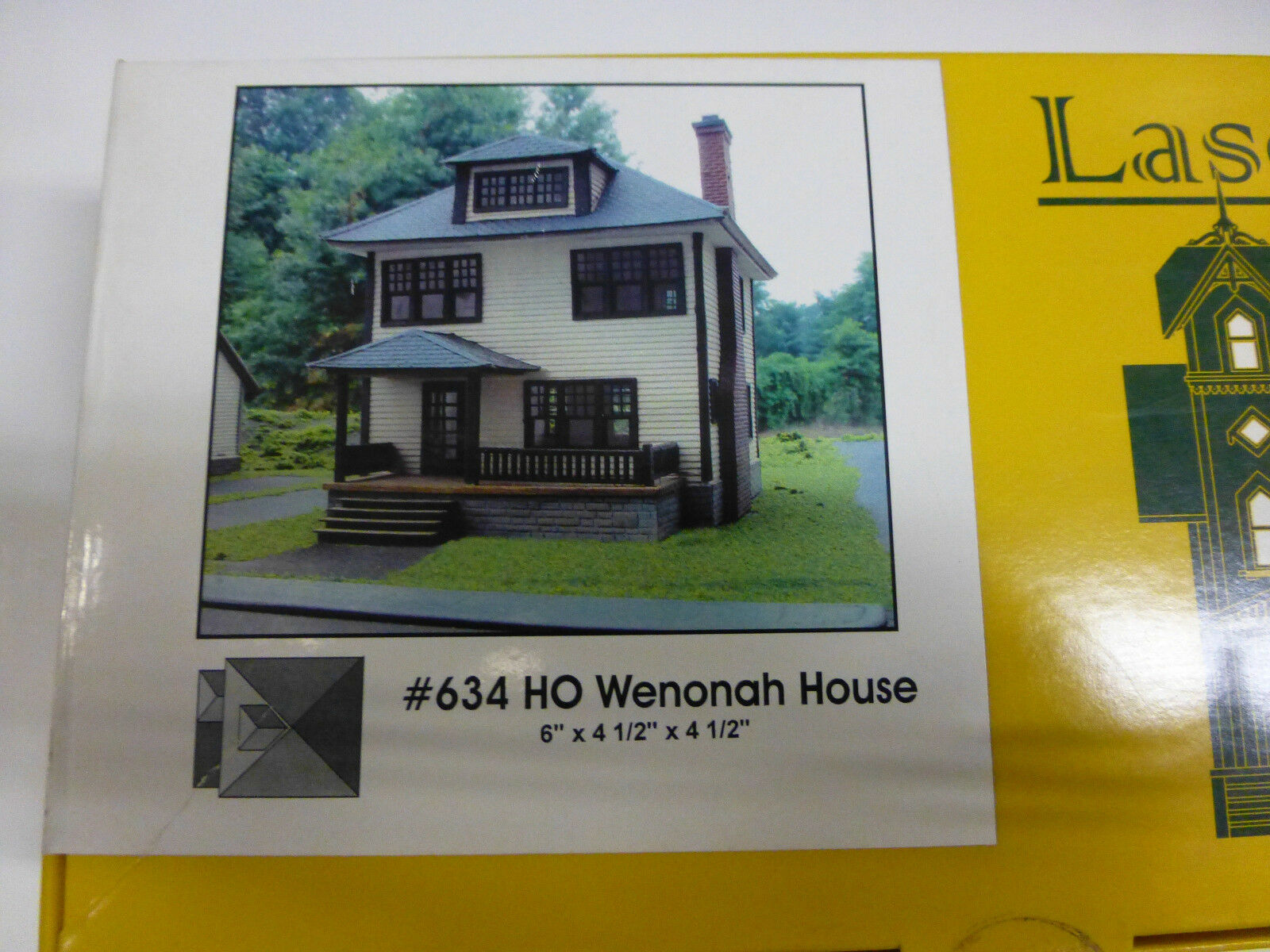 Branchline Laser-Art Structures HO The Wenonah House