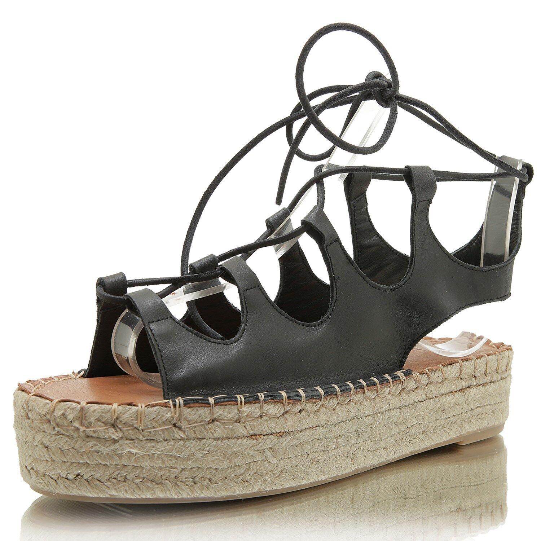 ALOHAS Gladiator schwarz Günstige und gute Schuhe