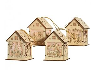 Christmas-LED-Wooden-Light-up-Houses-in-4-designs