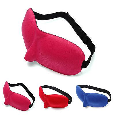 3D Eye Sleeping Rest Travel Sleep Mask Soft Sponge Cover Shade Blinder Blindfold