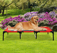 """XLarge 48"""" Elevated Raised Dog Bed Pet Cat Puppy Cot Oxford Outdoor Indoor"""