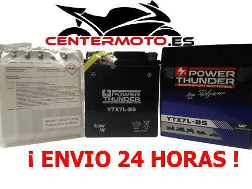 Batería YTX7L-BS 12V 6Ah | BTX7L-BS | btx7lbs | Moto | ¡Envio 24h!
