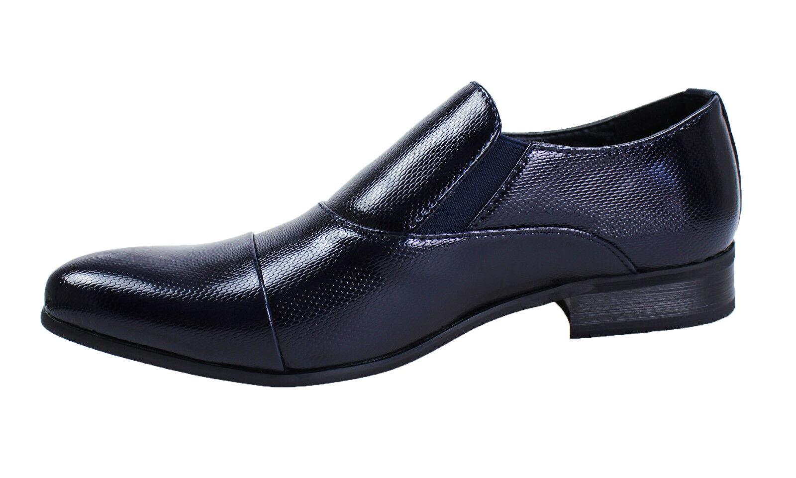 Schuhe Herren Klassische Blau Elegant mit Schnalle Nummer 40 41 42 43 44 45