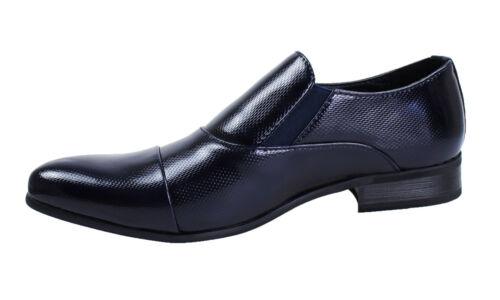 Vernice Diamond Shoes Cerimonia 44 42 Scarpe Class Blu 40 Uomo 43 41 45 Eleganti sQtdrhC