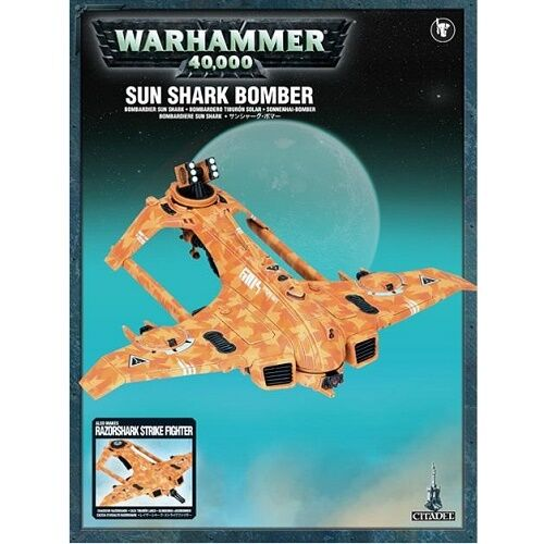 Warhammer 40K Sunshark Bomber 56-12 RARE OOP SEALED GW NEW