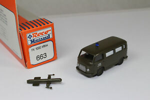 Ro1122, ROCO MINITANKS 663 Ford FK 1000 Bus US Army Box Comme neuf 1/87 HO