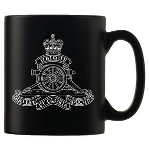 Royal-Regiment-of-Artillery-Personalised-Black-Satin-Mug