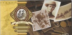 2005-Australia-amp-New-Zealand-ANZAC-2-coin-Proof-Set
