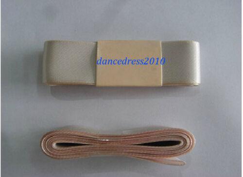 New Pink 2.4M Satin Pointe Shoe Ribbon in Dancewear For Ballet Dance Pointe Shoe