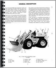 Allis Chalmers 545 545H Front End Loader Operators Manual (AC-O-545 DSL)