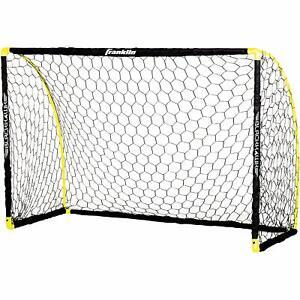 Franklin Sports Blackhawk Insta-set Portable Soccer Goal - 6 X 4 Ft (environ 1.22 M)-afficher Le Titre D'origine