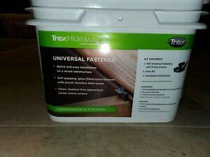 Trex Hideaway Universal Hidden Deck Fastener Clip 500 SQFT ...