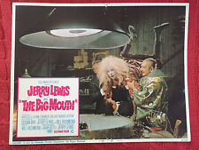 The Big Mouth 1967 Columbia comedy lobby card Jerry Lewis